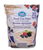 Great Value Quick Cook Steel Cut Oats