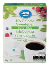 Great Value Stevia