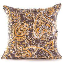 Gouchee Design Paisley Cushion