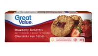 Biscuits tendres chaussons aux fraises de Great Value