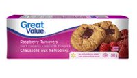Great Value Raspberry Soft Baked Turnovers/Cookies