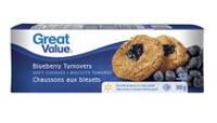 Biscuits tendres chaussons aux bleuets de Great Value