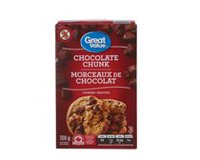 Biscuits Great Value aux morceaux de chocolat