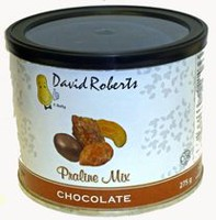 David Roberts Chocolate Praline Mixed Nuts Tin