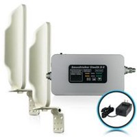 SmoothTalker X2 High Power Booster For Buildings - 2 High Gain Directional Antennas