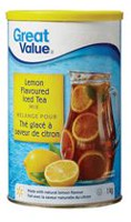 Great Value Lemon Flavour Iced Tea Mix