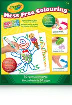 Bloc à dessing Color Wonder Mess Free Colouring Drawing de Crayola