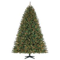 Holiday Time 7.5' Prescott Quick Set & Quick Fold Pine Christmas Tree