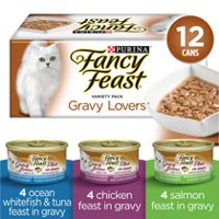 Purina(MD) Fancy Feast(MD) Assortiment Plats en Sauce(MC) Nourriture pour Chats
