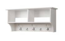 Prepac Manufactured Wood 36 in. Wide Hanging Entryway Shelf
