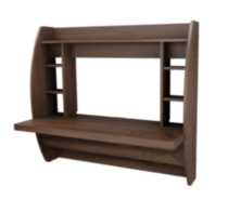 Prepac Manufactured Wood Floating Desk with Storage
