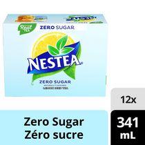 NESTEA Zero Sugar 341mL Can, 12 Pack