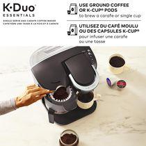 Keurig K-Duo Essentials Single Serve K-Cup Pod & Carafe Coffee Maker - image 2 of 9