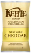 Kettle Chips New York Cheddar Gluten Free Potato Chips