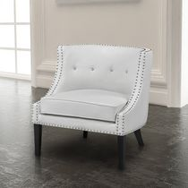 Home Gear Ruby Lounge Chair White