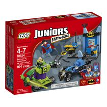 LEGO(MD) Juniors - BatmanMC et SupermanMC contre Lex LuthorMC (10724)