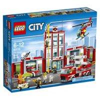 lego city fire fire station 60110