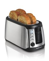 Hamilton Beach 4-Slice Long Slot Toaster with Keep Warm 24810C