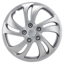 "16"" Silver Sport Wheel Cover 4 pack"