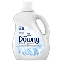 Ultra Downy® Free and Gentle™ Liquid Fabric Conditioner  (Fabric Softener).
