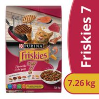 Purina(MD) Friskies(MD) 7 Nourriture pour Chats Sac de 1,42 kg 7.26KG