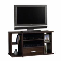 Sauder, TV Stand, Cinnamon Cherry Finish, 413037