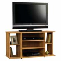 Sauder, TV Stand, Highland Oak Finish, 412995