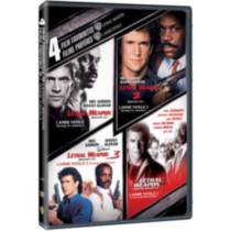 4 Film Favorites: Lethal Weapon - Lethal Weapon / Lethal Weapon 2 / Lethal Weapon 3 / Lethal Weapon 4 (Bilingual)
