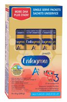 Enfagrow A+ - Milk Flavour - Single Serve Packets (16 x 18 g)