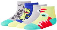 George baby Boys' 4-Pack Crew Socks