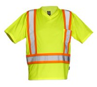 Forcefield Men's Short Sleeve Safety T-Shirt L
