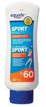 Equate SPORT Sunscreen Lotion SPF 60