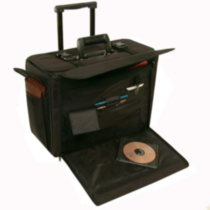 Stebco, Ballistic Stebco Catalog/Computer Case on Wheels, 261710BLK
