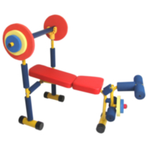 Fun and Fitness - Kids Weight Bench