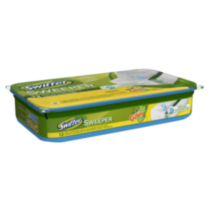 Swiffer Sweeper Wet Mopping Cloths Mop and Broom Floor Cleaner Refills Gain Original Scent