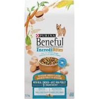 Purina® Beneful® IncrediBites™ Rotisserie Chicken Flavour Dog Food for Small Dogs 3.20KG