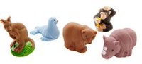 Fisher-Price Little People Animal 1, Pack of 5