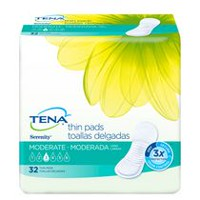 TENA® ANYWHERE™ Ultra Thin Pads Long 32 pads