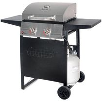 Backyard Grill Stainless Steel Lid 2 Burner Propane Gas Grill BBQ - GBC1405WV-C