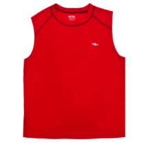 Athletic Works Muscle Top DRI-MORE For Men Red XXL