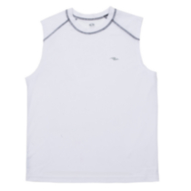 Athletic Works Muscle Top DRI-MORE For Men White S