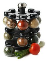 Olde Thompson 16 Jars Orbit Spice Rack Set