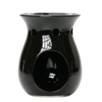 Black Ceramic Oil Warmer