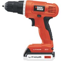 Perceuse-visseuse LD120C de Black & Decker de 20 V max au lithium
