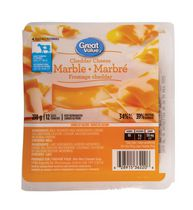 Great Value Marble Cheddar Cheese