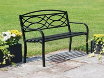 hometrends Garden Bench -Black