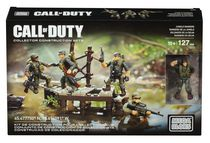 Mega Bloks Call of Duty Jungle Rangers Collector Construction Set