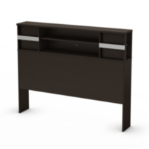 South Shore SoHo Collection Full Size Chocolate Storage Headboard