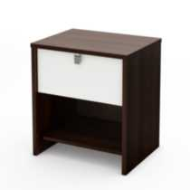 South Shore Cookie Night Stand Mocha, Model # 3471062