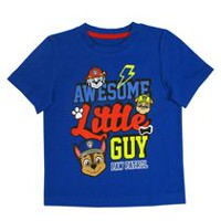 Awesome Little Guy Paw Patrol Toddler Boys' Short Sleeve T-Shirt 3T